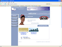 Small picture of www.careerfairs.ca home page