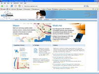 Small picture of mapfusion.com home page