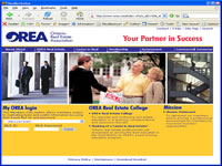 Small picture of www.orea.com home page