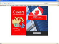 Small picture of www.workin.ca home page